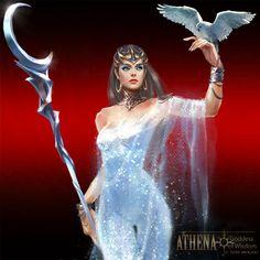 | Athena - Goddess of Wisdom | With steady emotions, Athena proceeds logically through all situations. Exuding confidence, Athena commands respect. -MERAKI