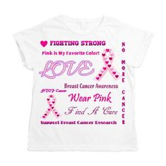 Breast Cancer Collage Women's All Over Print T-Shirt
