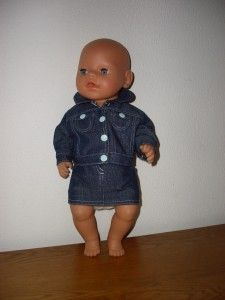 Jeans outfit for baby born