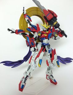1/144 Devil Burning Gundam - Custom Build     Modeled by ぺねぞう