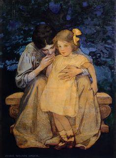 Jessie Wilcox Smith - Mother and Child 1908