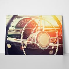 Canvas print INTERIOR CAR by Sticky!!! Wall Murals, Wall Stickers, Canvas Prints, Interior, Car, Home Decor, Wall Clings, Automobile, Decoration Home