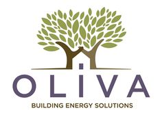33. Oliva    Created for an energy solution building firm, Oliva promotes its eco-friendliness by showing two trees holding hands. The trees, together with the dot from the 'i' form a negative space home, where the companies energy solutions tend to be aimed.