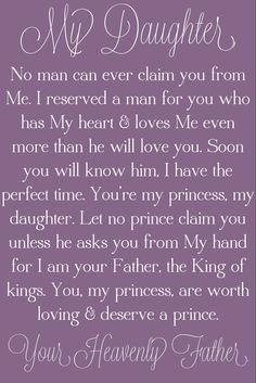 love your heavenly father