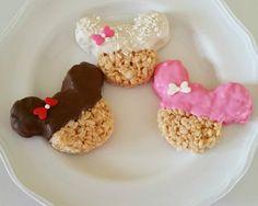 12 Minnie / Mickey Mouse Rice Krispie Treat by bitesizedelights