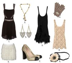 Fashion today inspired by the roaring 20s makes it fun and easy to have a themed party of your own! #aloette