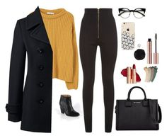 """""""Autumn🍂"""" by han-nastya on Polyvore featuring мода, Balmain, MANGO, Lands' End, H&M, Karl Lagerfeld, Gucci и Humble Chic"""