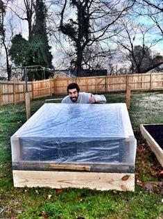 DIY Cold frames (mini greenhouses)