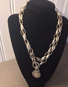 Slane 925 Silver Diamond Toggle Necklace Bee Pendant