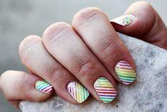 Digital Nails manicure
