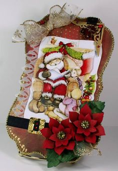 Night Before Christmas by Linda D - Cards and Paper Crafts at Splitcoaststampers