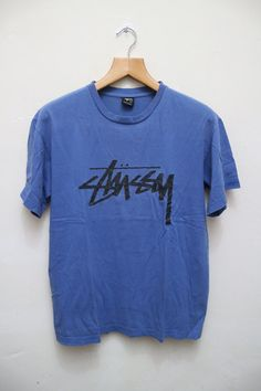 73ebca5a251 STUSSY Vintage T Shirt by VintageClothingZone on Etsy