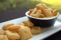 Homemade Cheese Crackers!!!!! YUMMMMMM
