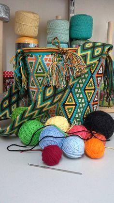 Colombian Wayuu Mochila/Crossbody by LuxuryHMAccessories on Etsy