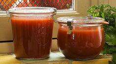 Ποντιακή πικάντικη σάλτσα τσατσιμπέλι Baby Food Recipes, Salsa, Mason Jars, Mugs, Tableware, Dip, Babies, Recipes For Baby Food, Dinnerware