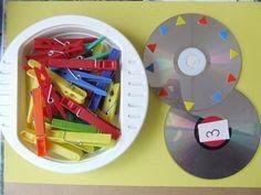 Primary Maths Games, Learning Games For Kids, Autism Activities, Learning Numbers, Hands On Activities, Preschool Tables, Preschool Classroom, Montessori Practical Life, Montessori Activities