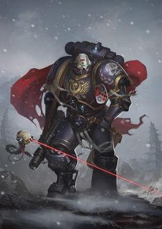 Warhammer 40k artwork : Photo