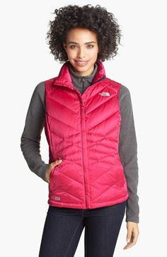The North Face 'Aconcagua' Down Vest available at #Nordstrom