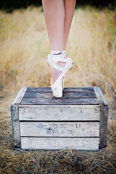 senior portraits ballet shoes - Google Search