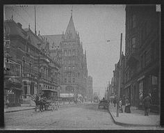 Elm Street, 1910 - Cincinnati