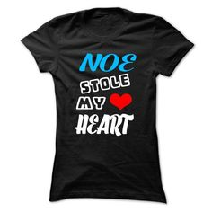NOE Stole My Heart - 999 Cool Name Shirt ! #name #tshirts #NOE #gift #ideas #Popular #Everything #Videos #Shop #Animals #pets #Architecture #Art #Cars #motorcycles #Celebrities #DIY #crafts #Design #Education #Entertainment #Food #drink #Gardening #Geek #Hair #beauty #Health #fitness #History #Holidays #events #Home decor #Humor #Illustrations #posters #Kids #parenting #Men #Outdoors #Photography #Products #Quotes #Science #nature #Sports #Tattoos #Technology #Travel #Weddings #Women
