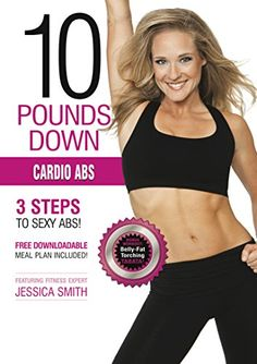 Cardio Abs DVD HIIT cardio interval training sculpting fat burning Tabata intermediate to advanced level workout best home exercise -- Want additional info? Click on the image. (Note:Amazon affiliate link)