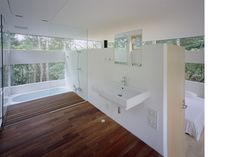 TNA - all their work is beautiful. Bathroom in the Nagano House
