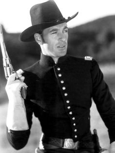 """Only the Brave"" (1930) - Gary Cooper as Union army officer, 'Captain James Braydon' - Directed by Frank Tuttle - Paramount."