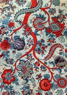 textiles de la india - Buscar con Google Motifs Textiles, Textile Patterns, Textile Prints, Print Patterns, Floral Patterns, Cotton Painting, Fabric Painting, Fabric Wallpaper, Pattern Wallpaper