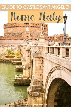 Planning a trip to Rome and wondering what to see and do? You should put Castle Sant'Angelo, near Vatican City, on your Rome to do list or itinerary. The castle is a museum and a 2,000 year old landmark in Rome, built by Emperor Hadrian. Everyone walks by Castle Sant'Angelo, but not everyone goes in. This makes it a fascinating hidden gem in Rome. If you want some beautiful viewpoints over the Vatican, come here! Rome Itineraries | What To See and Do In Rome | Hidden Gems in Rome | #rome Travel Around Europe, Rome Travel, Ireland Travel, Spain Travel, Greece Travel, Italy Travel, European Travel Tips, European Destination, Rome Itinerary