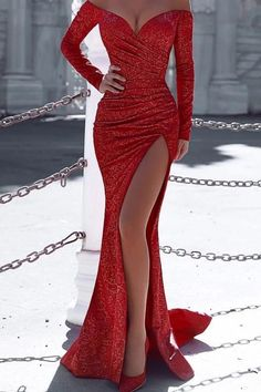 Missord Women Sexy V Neck Off Shoulder Long Sleeve Elegant Dresses Female Maxi Dress Elegant Dresses For Women, Elegant Prom Dresses, Gala Dresses, Pretty Dresses, Sexy Dresses, Summer Dresses, Wedding Dresses, Awesome Dresses, Casual Dresses