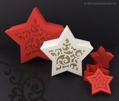 free svg Sterndose-mit-Deckelvarianten really pretty swirly decorative star boxes