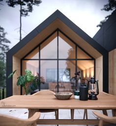 Home Design 32 The Best Eco Friendly House Architecture Design Ideas Make A Chart Article Body: All Modern Barn House, Modern House Design, Modern Log Cabins, Narrow House, A Frame House, Eco Friendly House, Interior Design Living Room, Interior Livingroom, Exterior Design