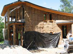 Pacas de paja para una arquitectura sustentable