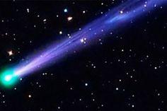 El Universo iluminará la noche de Año Nuevo con un cometa