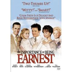 Amazon.com: The Importance of Being Earnest: Colin Firth, Rupert Everett, Frances O'Connor: Movies & TV