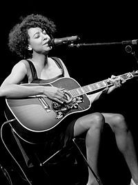 Corinne Bailey Rae singer-songwriter and guitarist born in Leeds.
