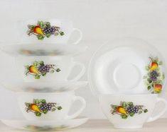 Vintage Tableware, Glass Baking Dish, Pyrex, Etsy Vintage, Dinnerware, Tea Cups, Etsy Seller, France, Doors