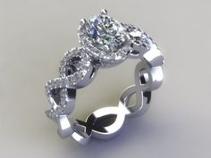 """When grading diamonds, jewelers use a color scale from """"D"""" to """"Z"""" to grade the quality of the color. The more clear the diamond, the closer to """"D"""" it is graded."""