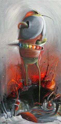 Las pinturas de Philip Bosmans