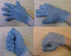 how to make chainmail Glove