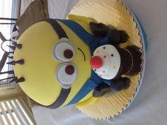 Minion cake :)