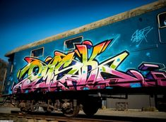 Graffiti Artist: Omsk167 / Dresden / Walls Graffiti. Visit our blog for more graffiti arts!
