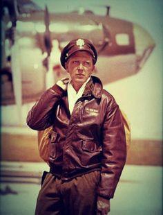 #flying #jacket - From the television series Twelve O Clock High B-Gen Frank Savage - Robert Lansing