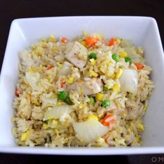 """Vietnamese Fried Rice Vietnamese Fried Rice Related posts: Mexican Cauliflower Fried Rice (Paleo, Keto) Korean Kimchi Fried Rice (vegan & gluten-free) Quinoa Fried """"Rice"""" This is a fix it and forget it style fried rice recipe. Vietnamese Fried Rice Recipe, Vietnamese Rice, Vietnamese Recipes, Asian Recipes, Kimchi, Red Rice Recipe, Vegetarian Rice Recipes, Cambodian Food, Shrimp And Rice"""