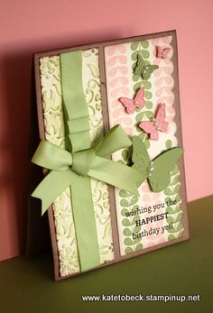 Handmade by Kate Tobeck: Apple blossoms and butterflies