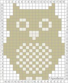 - Knitting and Crochet - Best Knitting Pattern Owl count pattern . - knitting and crochet History of Knitting Wool spinning, weaving . Crochet Pixel, Crochet Owls, Knit Crochet, Crochet Owl Blanket, Ravelry Crochet, Free Crochet, Knitting Charts, Knitting Stitches, Knitting Patterns