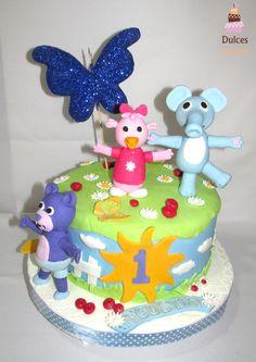 Torta Canciones del Zoo #TortaCancionesDelZoo #TortasDecoradas #DulcesKaprichos