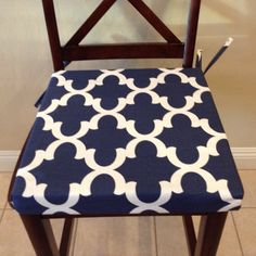 Hey, I found this really awesome Etsy listing at https://www.etsy.com/listing/217252410/navy-blue-seat-cushion-cover-chair-back