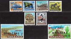 Tanzania 1965 Fine Mint Zebra SG 134 Scott 11 Other Tanzania Stamps HERE